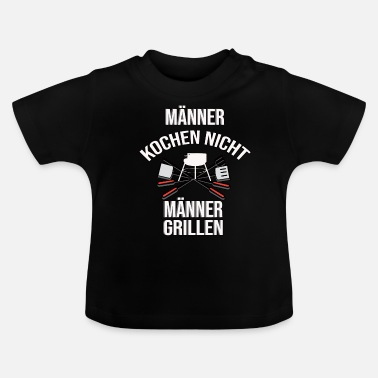 Gift, Grill Master, Barbecue King, Barbecue, Grill - Baby T-Shirt