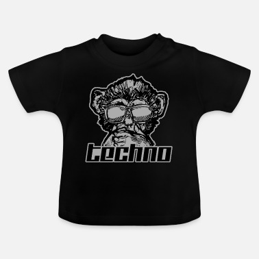 Techno Music Music techno - Baby T-Shirt
