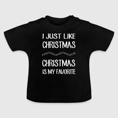 Grappige Video Game Merry Christmas Grappige kerstboom cadeau - Baby T-shirt