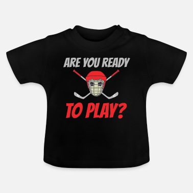 Ijshockey IJshockey IJshockey - Baby T-shirt