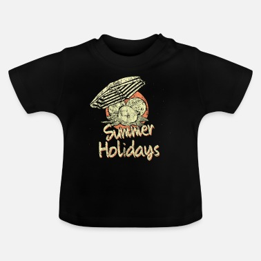 Beachvolleyball Strandvakantie - Baby T-shirt