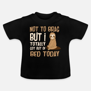 Animal funny animals sloth - Baby T-Shirt