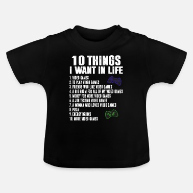 Gaming Gaming Gamer - T-shirt baby