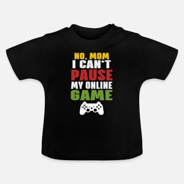 Online Online Gaming Online Spil - Baby T-shirt