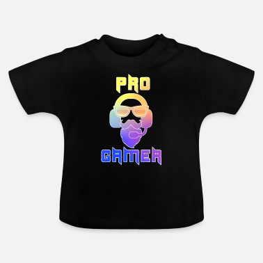 Pro Pro Gamer Gaming Headset Hipster - Baby-T-shirt