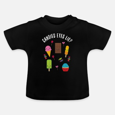Candy Candy Candy pun - Baby T-Shirt