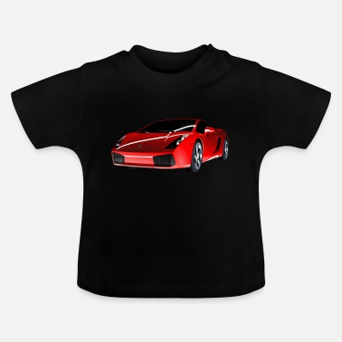 Sport Automobile Voiture de sport auto automobile - T-shirt Bébé