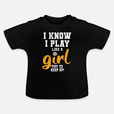Volleyball Team Volleyball volleyball volleyball team - Baby T-Shirt