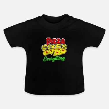 Voedsel Voedsel voedsel cadeau idee - Baby T-shirt