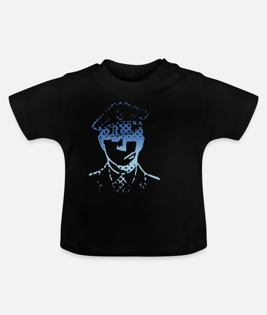 Uniform Baby Clothes - Police. Police. uniform - Baby T-Shirt black