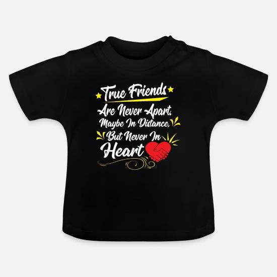 Freunde Freundschaft Gedicht Reim Geschenk Idee Baby T Shirt