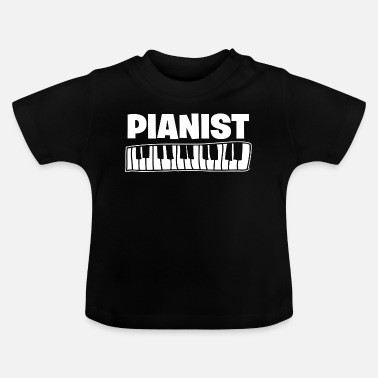 Music-lesson Piano piano pianist music school music lessons - Baby T-Shirt