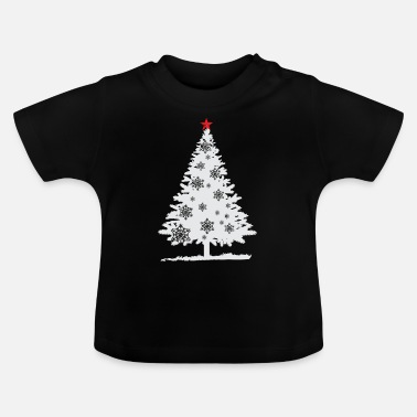 Tree Christmas tree - fir-tree - Christmas Tree - Baby T-Shirt