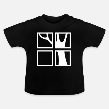 Windows Windows met uitzicht - Baby T-shirt