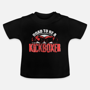 Ramme Kickboxing boksning fitness gave - Baby T-shirt