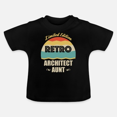 Opleiding Retro Architect Tante - Baby T-shirt