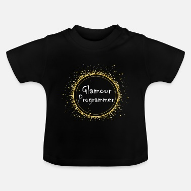 Glamour glamour programmerare - Baby-T-shirt