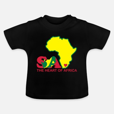 Africa South Africa - The Heart Of Africa - Baby T-Shirt