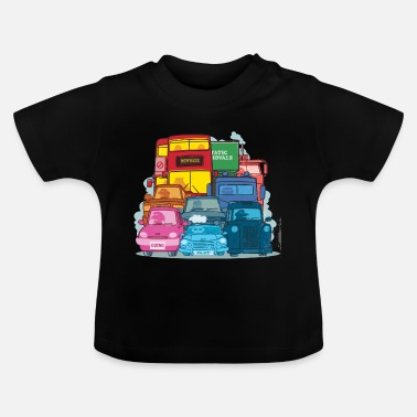 London Traffic - Baby T-Shirt