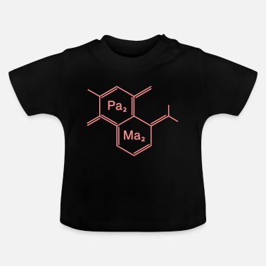 Family Junior Daughter Mom Father chemical papa + mama - Baby T-Shirt