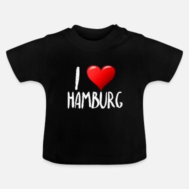 I love Hamburg - Baby T-Shirt