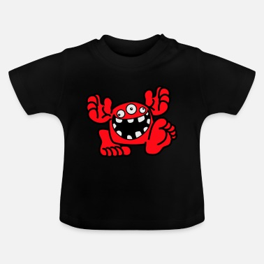 Proud To Be A Monster Cartoon by Cheerful Madness! - Baby T-Shirt