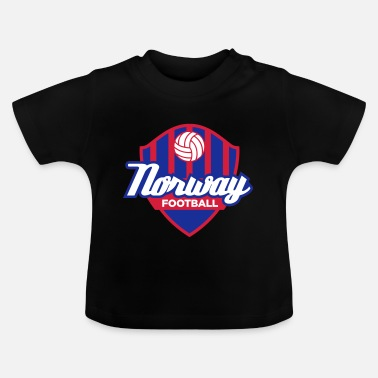 Mandapeno Norway Football Emblem (3c, NEU) - Baby T-Shirt