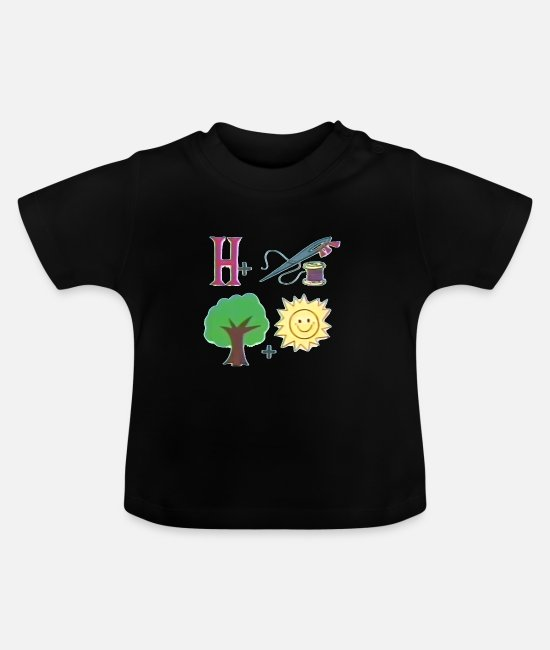 Training Baby T-Shirts - Rätsel Puzzle Game IV - Baby T-Shirt Schwarz