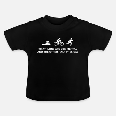 Triathlon Triathlon Mental - Baby T-shirt