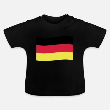 Flag Germany Flag Flag - Baby T-Shirt