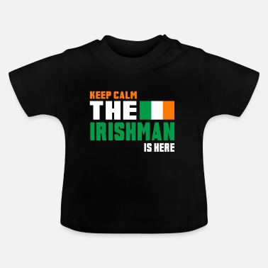 Nationale Houd Calm Ireland / Gift National Colors - Baby T-shirt