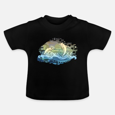 Dolphin Dolphins - Baby T-Shirt