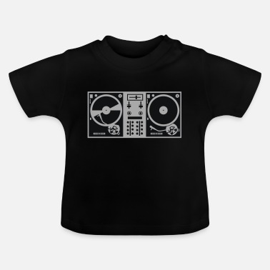 Turntable vinyl turntables - Baby T-shirt