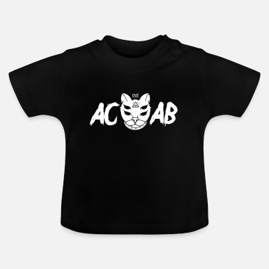 1312 - ACAB - Antifa Cat - All Cats Are - Baby T-Shirt