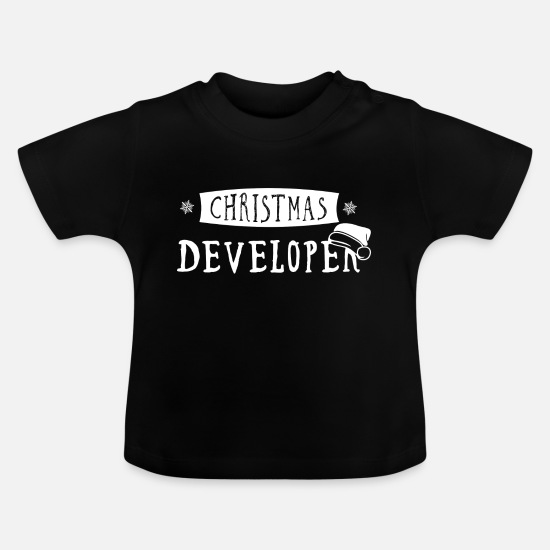 Code Baby Clothes - Web developer developer Christmas gift - Baby T-Shirt black