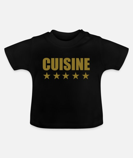 BBQ Baby T-Shirts - Cuisine cooking - Baby T-Shirt black