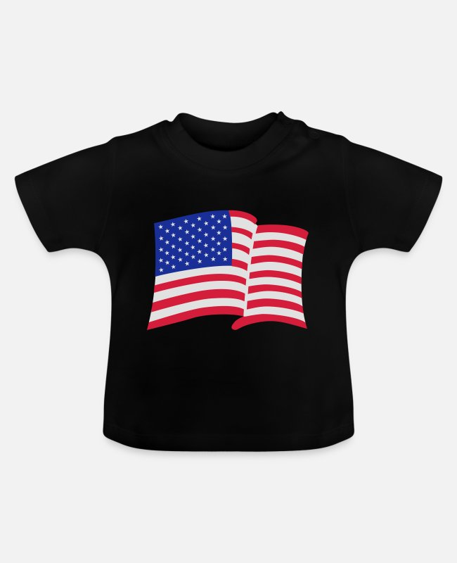 New York Baby T-Shirts - america - Baby T-Shirt black
