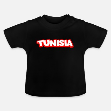 Cartoon Der Shield Tunesische Arms Sonne Bandiera afrika flag tunesien - Baby T-Shirt