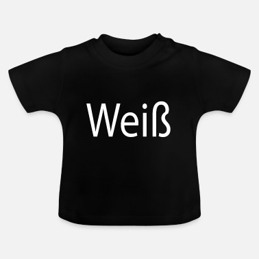 Wit wit - Baby T-shirt
