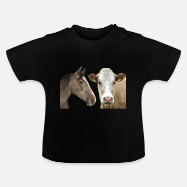Gallop Horse Cow - Baby T-Shirt