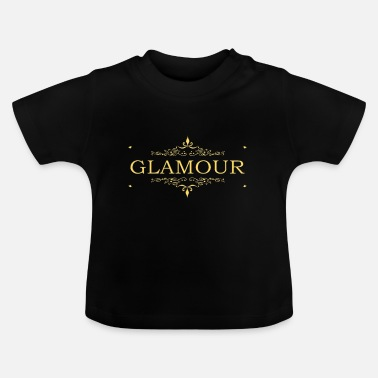 Glamour Glamour goud - Baby T-shirt