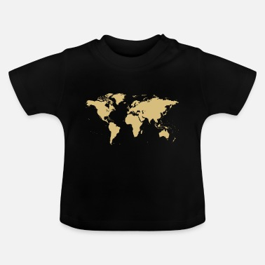 Map World map map - Baby T-Shirt
