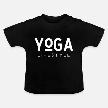 Scripture Yoga lifestyle saying meditation scripture text - Baby T-Shirt