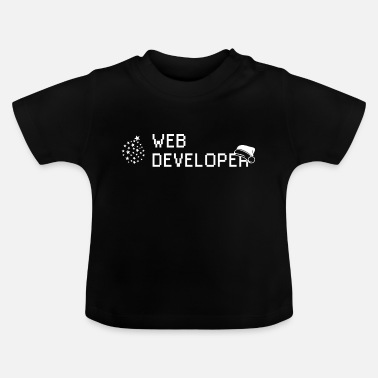 Developer Web developer developer Christmas gift - Baby T-Shirt