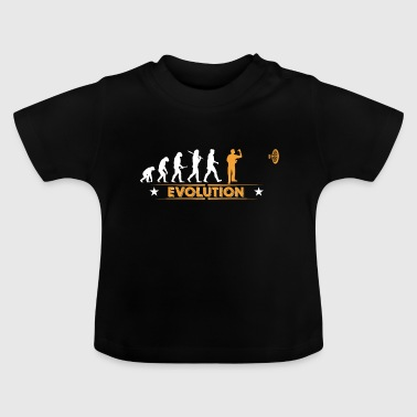 Dart Dart - Evolution - orange/weiss - Baby T-shirt