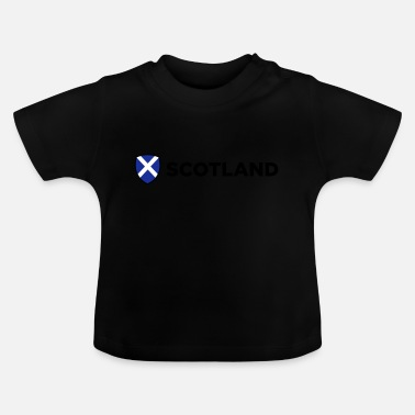 3759 National Flag of Scotland - Baby T-Shirt