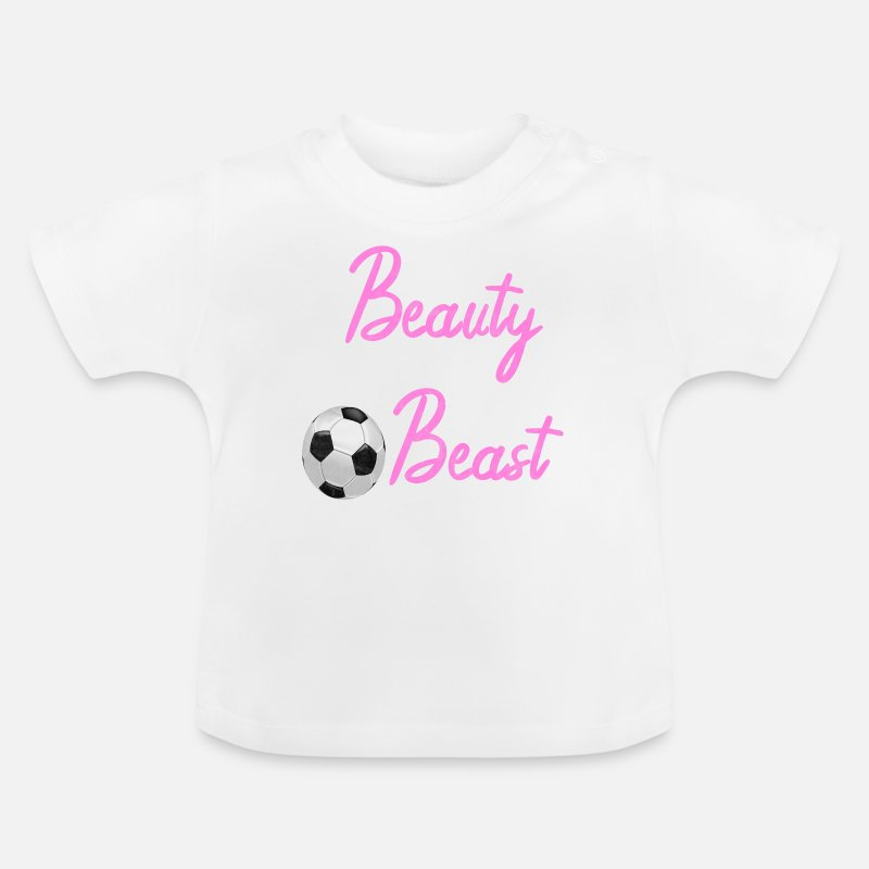Fussball Spruch Spruche Maedchen Frauenfussball Baby T Shirt Spreadshirt