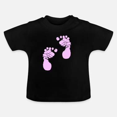 Step Brothers Bodysuit Romper Step by Step Pink Girl Girl - Baby T-shirt