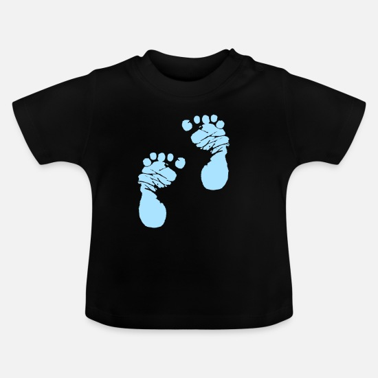 Blue Sky Baby Clothes - Body Romper Step by Step Blue Boys Boys - Baby T-Shirt black