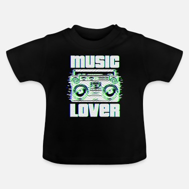 Clubbers music lover | Music lovers - Baby T-Shirt
